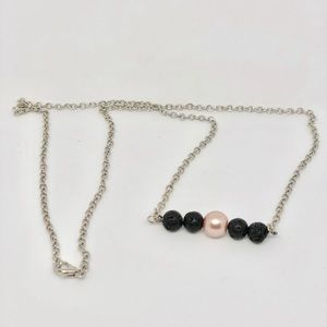 Jewelry - Rose Gold Diffuser necklace